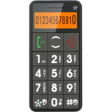 Just5 J509 Cellular Phone - Bar - Gray - J509GREY