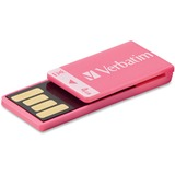 Verbatim Clip-it 97549 Flash Drive - 4 GB