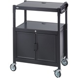 SAF8943BL - Safco Steel Adjustable AV Carts