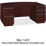 Bush Milano 50DBF72A1CS Pedestal Desk