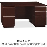 Bush Milano 50DDP60A1CS Pedestal Desk BOX 1of 2
