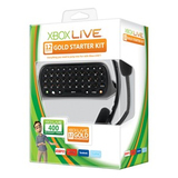 CXC-00008 - XBOX 360 LIVE 12MO MESSENGER GOLD STARTER PACK NTSC 400PT