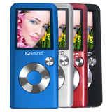 Supersonic IQ-2600 2 GB Red Flash Portable Media Player