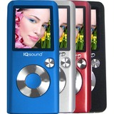 Supersonic IQ-4600 4 GB Silver Flash Portable Media Player