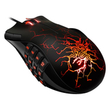 Razer Naga Molten Mouse - Laser Wired