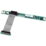 StarTech.com PCI Express Riser Card x1 Left Slot Adapter 1U with Flexible Cable