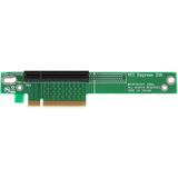 StarTech.com PCI Express Riser Card - x8 Left Slot Adapter for 1U Servers