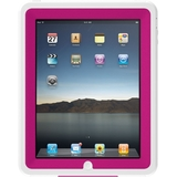 Otterbox Defender APL2-IPAD1-44-C4OTR Skin for Tablet PC - Hot Pink, White