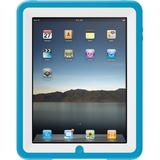 Otterbox Defender APL2-IPAD1-C5-C4OTR Skin for Tablet PC - White, Blue