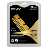 PNY Optima MD8192KD3-1333 RAM Module - 8 GB (2 x 4 GB) - DDR3 SDRAM