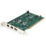 StarTech.com 3 Port PCI 1394b FireWire Adapter Card - PCI1394B3