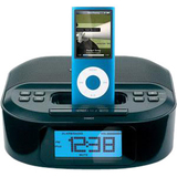 Memorex MI4390BLK Desktop Clock Radio - Apple Dock Interface - Proprietary Interface 01786