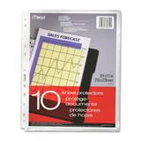 Hilroy 11-Hole Punched Plain Edge Sheet Protector