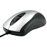 Kingwin KW-03 Mouse - Optical Wired - Black, Silver
