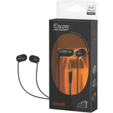 Maxell EN5 Earphone - Stereo - Black - Mini-phone