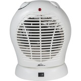 Royal Sovereign The HFN20 oscillating fan heater is compact and has 2 adjustable heat settings HFN-20