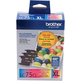 Brother LC753PKS Ink Cartridge - Cyan, Magenta, Yellow - LC753PKS