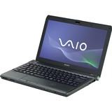 Sony VAIO VPCS132GX/B 13.3' LED Notebook - Core i3 i3-380M 2.53 GHz - Black