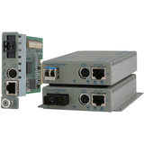 8900N-0-D - Omnitron iConverter 8900N-0-D Fast Ethernet Media Converter