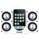 i.Sound Speaker System - White
