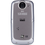 "GE DV1 Digital Camcorder - 2.5"" LCD - Graphite Gray - DV1GG"