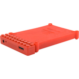 CABD2BR-R - Cavalry Bulldog CABD2BR-R Drive Enclosure - External - Red