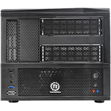 Thermaltake Armor A30 System Cabinet - Mini-tower - Black - Steel, Pla - VM70001W2Z