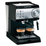 Hamilton Beach 40715 Pod Coffee Machine - Black, Stainless Steel 40715