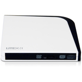 PLDS eNAU108 DVD-Writer - White - External