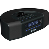 SR-L280I-B - Teac SR-L280i Desktop Clock Radio - 4 W RMS - Stereo - Apple Dock Interface