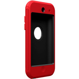 Otterbox Defender APL2-T4GXX Skin for Multimedia Player - Black, Red