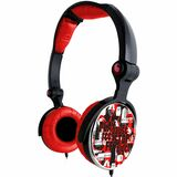 Ergoguys GHCR-109R Headset - Stereo - Red - Mini-phone