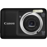 Canon PowerShot A800 10 Megapixel Compact Camera - 6.60 mm-21.60 mm - Black