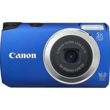 Canon PowerShot A3300 IS 16 Megapixel Compact Camera - 5 mm-25 mm - Blue