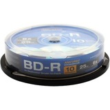 Aleratec Blu-ray Recordable Media - BD-R - 10x - 25 GB - 10 Pack Spindle