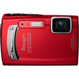 Olympus Tough TG-310 14 Megapixel Compact Camera - 5 mm-18.20 mm - Red
