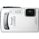 Olympus Tough TG-310 14 Megapixel Compact Camera - 5 mm-18.20 mm - White
