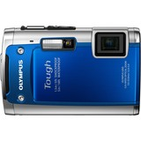 Olympus Tough TG-610 14 Megapixel Compact Camera - Blue 228080