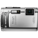 Olympus Tough TG-610 14 Megapixel Compact Camera - 5 mm-25 mm - Silver