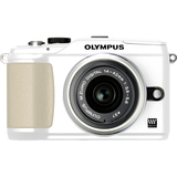 Olympus PEN E-PL2 12.3 Megapixel Mirrorless Camera (Body with Lens Kit) - 14 mm - 42 mm - White 262921