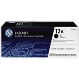 HP 12A (Q2612D) 2-pack Black Original LaserJet Toner Cartridges