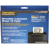 Aleratec Shredder Lubricant Sheet