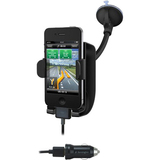Kensington SoundWave Power Sound Amplifying Car Mount and Charger - K39259US