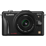 Panasonic Lumix DMC-GF2 12.1 Megapixel Mirrorless Camera (Body with Le - DMCGF2CK