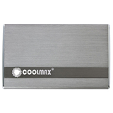 Coolmax HD-250TN-U3 Storage Enclosure - External - Gray