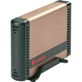 Coolmax HD-381BZ-U3 Storage Enclosure - External - Copper