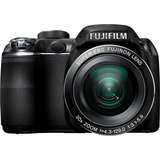 16124248 - Fujifilm FinePix S4000 14 Megapixel Bridge Camera - Black