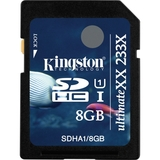 Kingston UltimateXX SDHA1/8GB 8 GB Secure Digital High Capacity (SDHC)