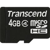 Transcend TS4GUSDC4 4 GB microSD High Capacity (microSDHC) TS4GUSDC4
