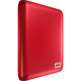 Western Digital My Passport Essential SE Portable WDBACX0010BRD 1 TB External Hard Drive - Retail - Metallic Red